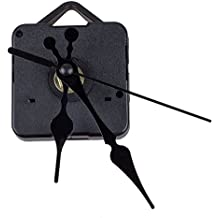 SODIAL(R) Clock Movement Mechanism with Black Hour Minute Second Hand DIY Tools Kit