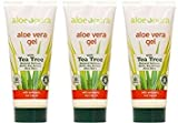 (3er BUNDLE) | Pura Aloe Aloe Vera Gel & Tea Tree 200ml | 200ml - Aloe Pura