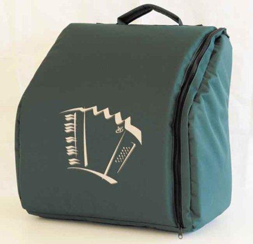 Rucksack für Weltmeister Pianoakkordeon 34/72 bis 34/80 Achat/Opal, Knopfakkordeon Romance 603,703, grün