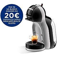 Nescafé EDG155.BG Dolce Gusto Mini Me- Macchina Automatica per Caffè Espresso e altre Bevande, Multicolore (Black & Artic Grey)