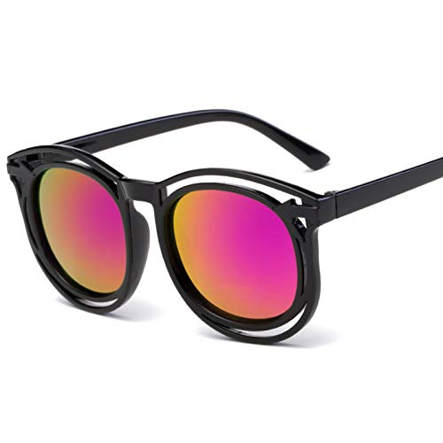 Taiyangcheng Jungen Kinder Sonnenbrille Flieger Kinder,Lila