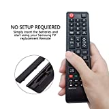 Image of Myhgrc New Replacement Samsung Tv Remote Control Bn59 01247a Fit For Samsung Tv Ue55ku6500u Ua78ks9500w Ua88ks9800 Ue40ku6000 Ue49ku6500u No Setup Required Tv Universal Remote Control