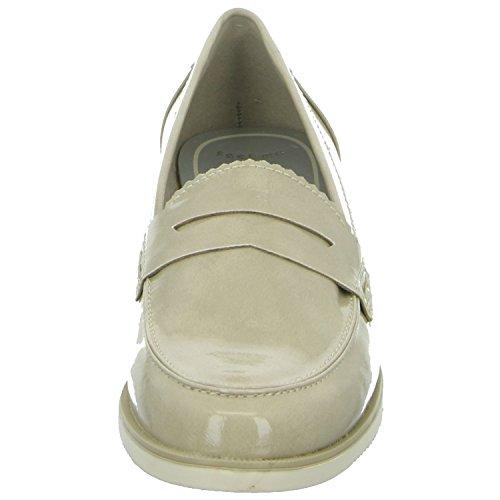 Marco Tozzi 2-24201-36/405 Damen Slipper Halbschuh eleganter Boden Beige (Beige)