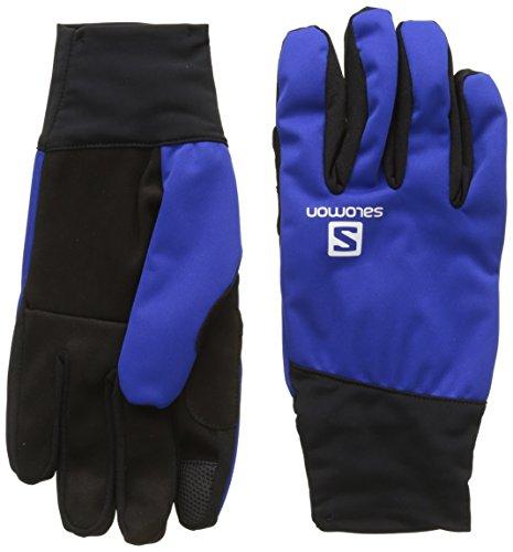 Salomon, Herren Langlauf-Handschuhe, Touchscreen geeignet, EQUIPE GLOVE M, Größe: M, Blau (Surf The Web), L39504700