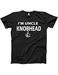HotScamp I'm Uncle Knobhead - Funny Gift Mens Unisex T-Shirt