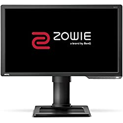 "BenQ ZOWIE XL2411P - Monitor Gaming para e-Sport de 24"" Full HD, 144Hz con 1ms, ajustable en altura y giro, Display Port, HDMI, Flicker-free, Low Blue Light, Color Vibrance, Black eQualizer"