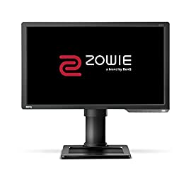 BenQ ZOWIE XL2411P 24 Inch 144Hz e-Sports Gaming Monitor with 1ms, Height Adjustable Stand, Display Port, Black eQualizer, Dark Grey