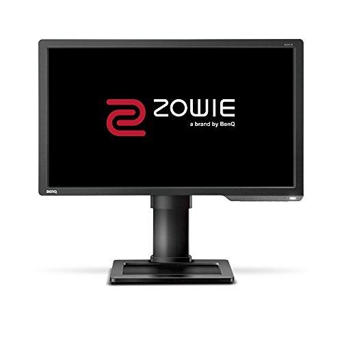 BenQ ZOWIE XL2411P - Monitor Gaming para e-Sport de 24' / 61 cm FullHD (144Hz, 1ms, Black eQualizer, HDMI, DisplayPort, DVI-DL, Black eQualizer, Flicker-free, Altura Ajustable) Gris oscuro