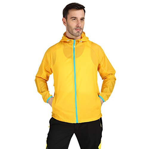 tdoorjacke Damen Herren Winddichte Jacke Outdoor Fahrrad Sport Quick Dry Windbreaker Coat Top Sportjacke Dünne Outdoor Funktionsjacke ()