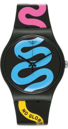 Swatch Reloj de cuarzo Unisex Unisex No Guts No Glory 41 mm