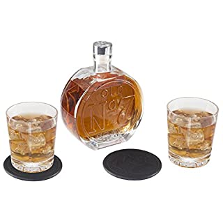 Jack Daniel Old No.7 Decanter Set