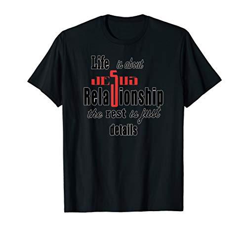 Christliches Leben, Jesus und Verhältnis-Grafik-Kleidung T-Shirt