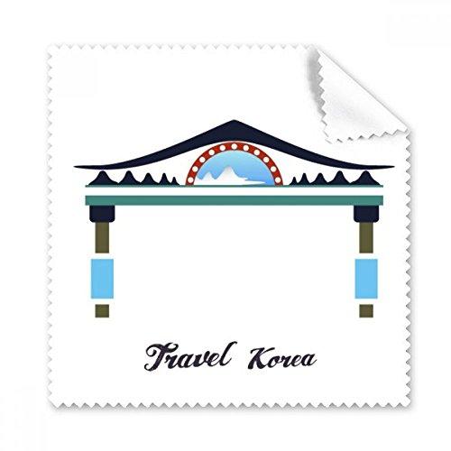 Traditionelle Memorial Arch in Korea Gläser Tuch Reinigungstuch Geschenk Handy-Display von 5x -