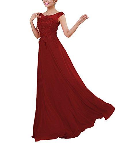CoutureBridal® Damen Kleid Lang Abendkleider Abschlussball Ballkleid ...