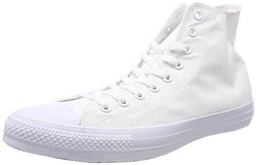 Converse Chuck Taylor Ct As Sp Hi Canvas, Scarpe da Fitness Unisex-Adulto, Bianco (White Monochrome 137), 49 EU
