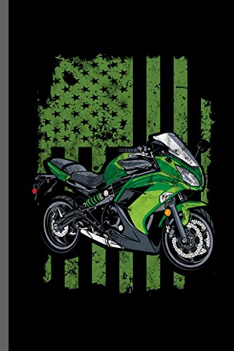 Green Motorcycle Flag: Motorcycles Dirt Bike Bikers Riders Racers Motocross Racing Extreme Sports Gift (6