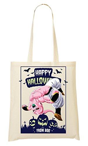 Happy Halloween From Boo Dragon Ball Anime Dbz Jack O Lantern Tragetasche - Halloween-boo Happy Sie