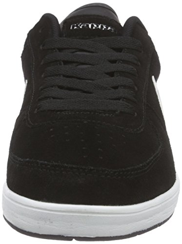 Kappa TROOPER PLUS Unisex-Erwachsene Sneakers Schwarz (1110 black/white)