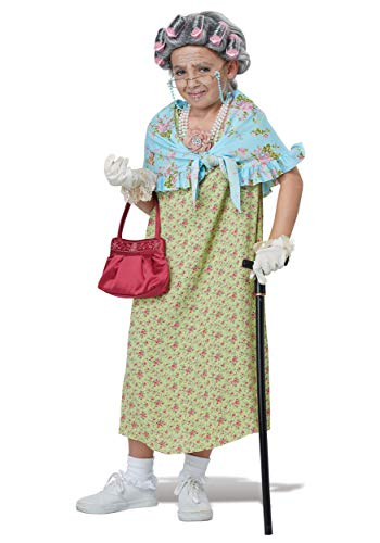 (California Costumes Alte Oma Kind Kostüm old lady kit)