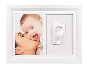 Baby Art - 34120073 - Cadre Photo - Baby Art Wall Print Frame - Blanc / Blanc-Noir