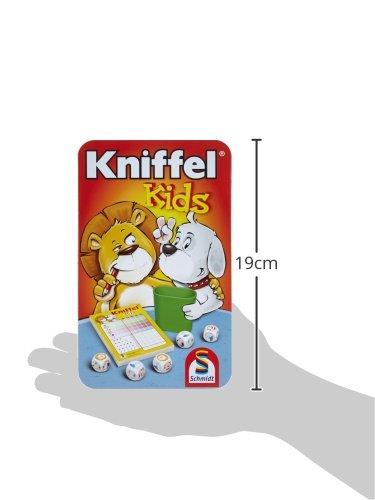 Schmidt-Spiele-51245-Kniffel-Kniffel-Kids-in-Metalldose