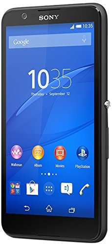 Image of Sony Xperia E4 Smartphone (12,7 cm (5 Zoll) IPS-Display, 1,3 GHz-Quad-Core-Prozessor, 5 Megapixel-Kamera, Android 4.4) Schwarz