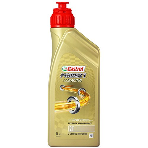 Castrol Power 1 Racing 2T Olio, Naturale
