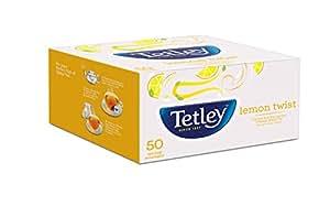 Tetley Flavour Tea Bags Lemon 50s (100gm)
