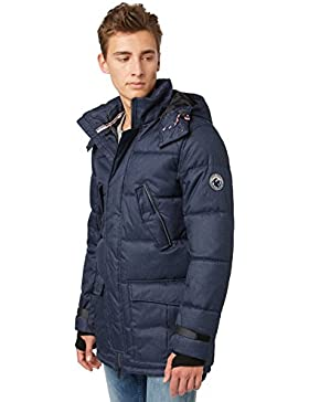 Tom Tailor Denim Function Puffer Parka, Chaqueta para Hombre