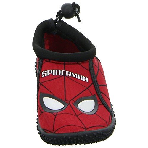 Spd Linho Halbschuh red 4209 Velcro Jovem Chinelo Vermelho Spiderman pCqxdvv