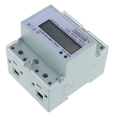 non-brand 1 Stück Elektronischer Energiezähler Export-Art Elektronischer Energie Meter Messgerät
