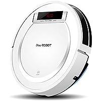 Robot Aspirador, Automático Carga, Control Remoto, Filtro HEPA para Cabello Y Alergias De