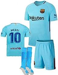 Barcelona 2017/18 Youths Home Kit Shirt & Shorts & Socks - *REPLICA *
