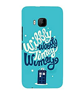 FUSON Wubbly Wobbly Tumey Wumey 3D Hard Polycarbonate Designer Back Case Cover for HTC One M9 :: HTC One M9S :: HTC M9