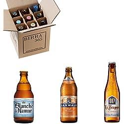 Caja especial 9 cervezas de trigo. La selección definitiva para descubrir tres de las más conocidas cervezas de trigo europeas.
