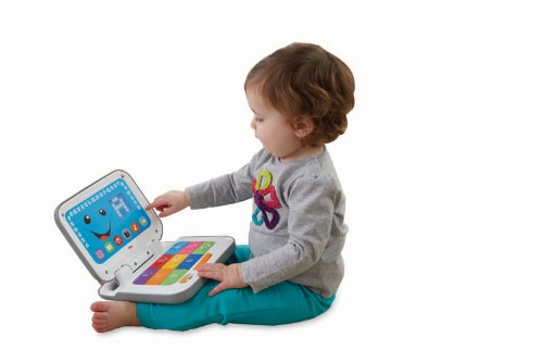 Fisher Price Laugh And Learn Smart Stages Laptop, Grey/White