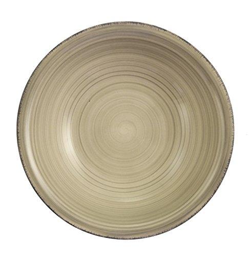 villa-deste-baita-service-6-assiettes-creuses-gres-emaille-peint-a-main-gris