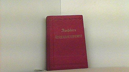 Das Generalgouvernement , Reisehandbuch