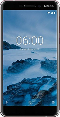Nokia 6.1 (2018) (White-Iron, 3GB RAM, 32GB Storage)