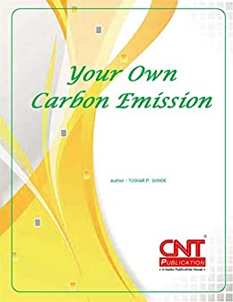 Your Own Carbon Emission (English Edition) di [Shinde, Tushar]