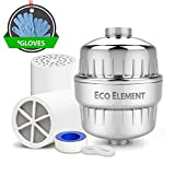 Eco Element 2nd Generation Enhanced Shower Filter. Live Well with Cutting Edge Technology