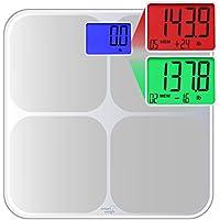 Smart Weigh SMS500 Bilancia da Bagno digitale, ad alta precisione,