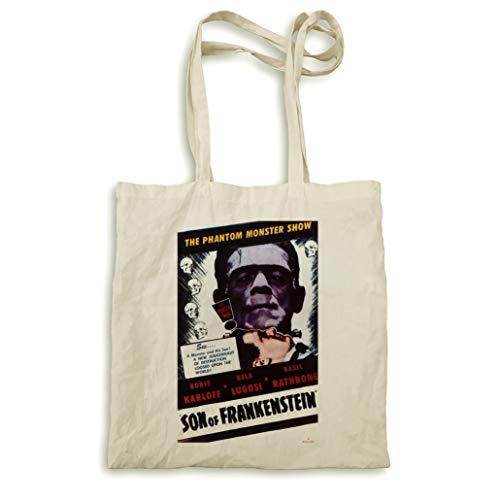 Son of Frankenstein Natural Handtasche -