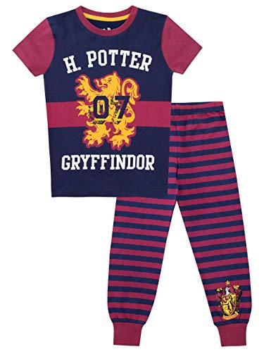 Harry Potter Pijama para niñas Gryffindor 10-11 Años