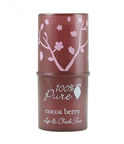 100% pure cosmétique naturel Fruit pigmen Ted Lip & Cheek Lipfinity à lèvres Rouge et de crème