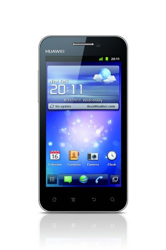 Huawei Huawei U8860 Smartphone (10,2 cm (4 Zoll) Display, 8 Megapixel Kamera, UMTS, Android 2.3) schwarz