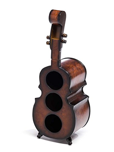 aubaho Weinregal 60cm Cello Bass Kontrabass Flaschenregal Flaschenständer Wein Regal