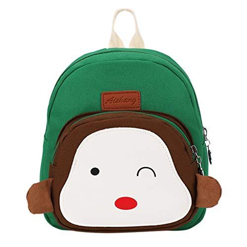Fendi Canvas Brieftasche (Dorical Mädchentaschen Kinder Cartoon Rucksack Umhängetasche Kindertasche für Mädchen, Schultertasche Baby Bag Kinder Rucksack Leichte Strap Schultasche für Baby Boy Ausverkauf(C))