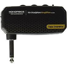 """Monoprice–Mini amplificador de auriculares para guitarra, """"Tube Overdrive"""""""