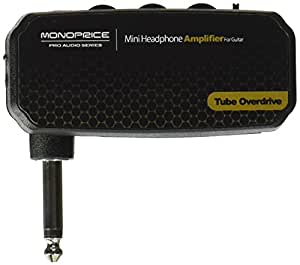 monoprice mini headphone amplifier for guitar tube electronics. Black Bedroom Furniture Sets. Home Design Ideas